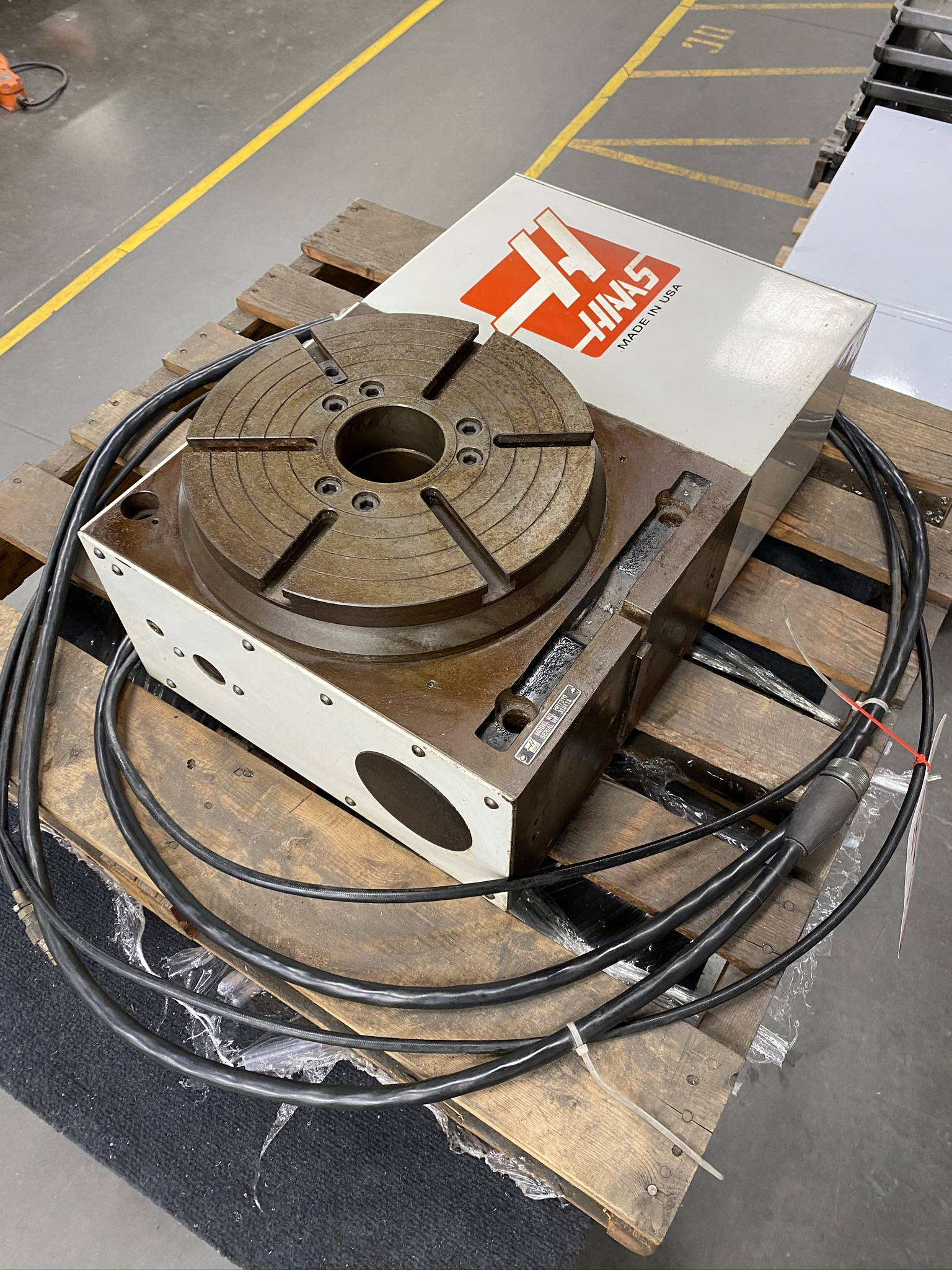 """HAAS HRT 310 ROTARY TABLE, 12"""" ROTARY TABLE, S/N 313113 - Image 7 of 9"""