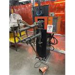 "JANDA SPOT WELDER, 24"" ARMS, 40 KVA, SINGLE PHASE MODEL 105 MICRP PROCESSOR CONTROL"
