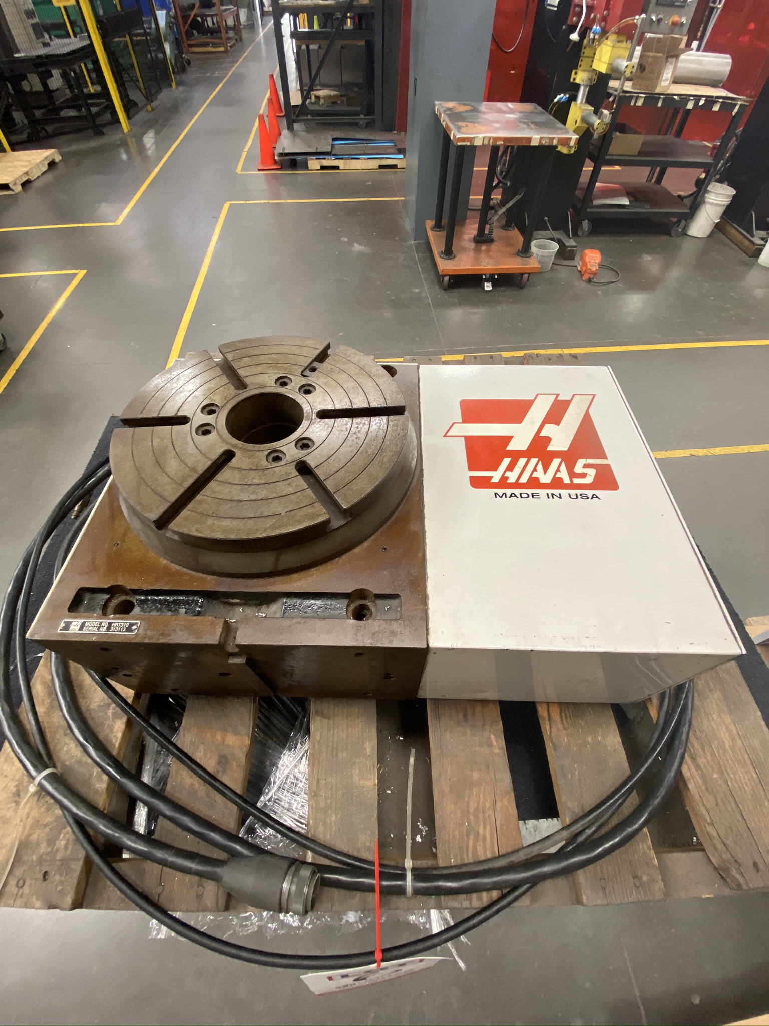 """HAAS HRT 310 ROTARY TABLE, 12"""" ROTARY TABLE, S/N 313113 - Image 9 of 9"""