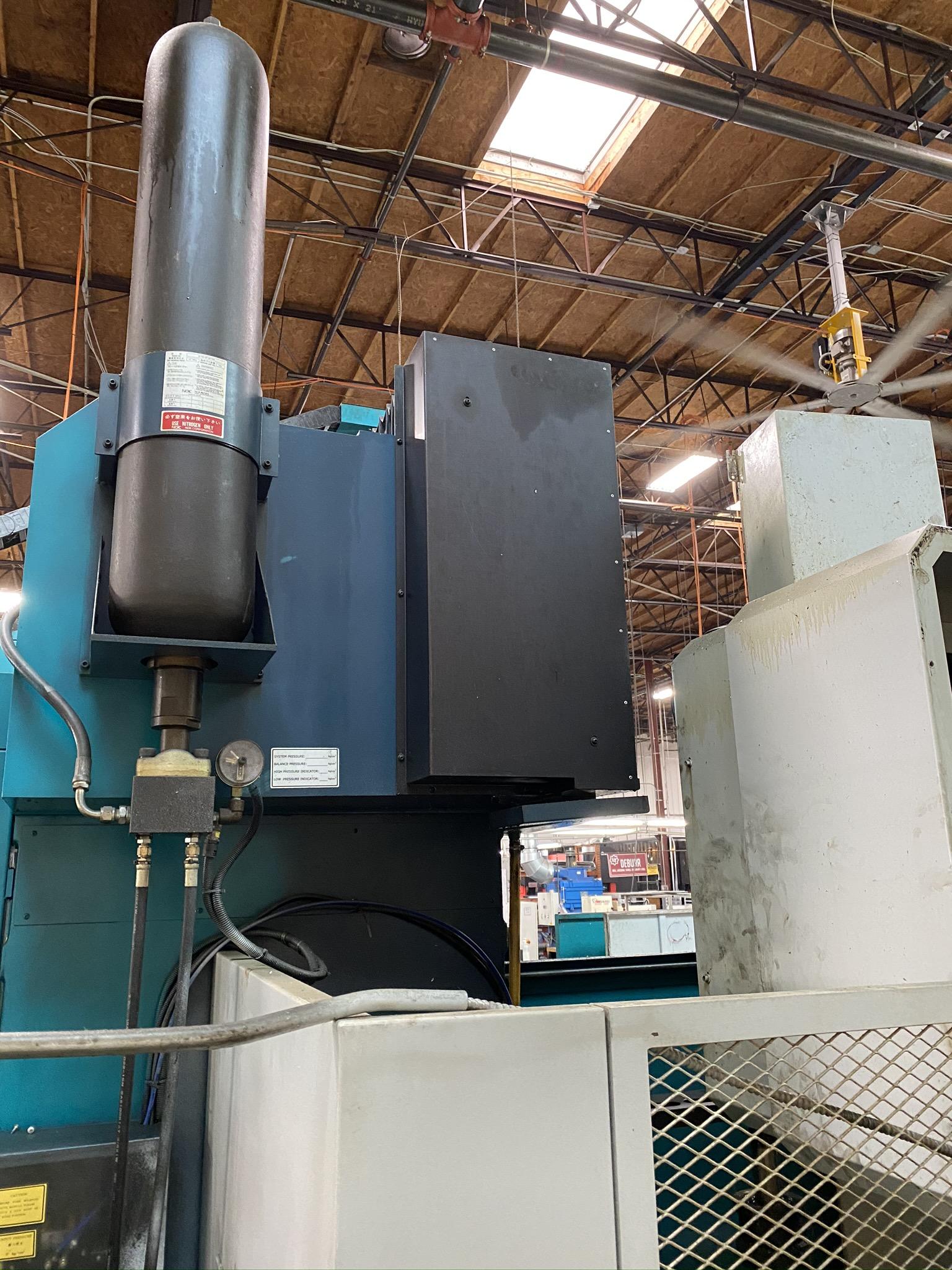 2005 SIGMA CNC DOUBLE COLUMN MACHINING CENTER, MODEL SDV-3219, FANUC 18IMB CNC CONTROL - Image 13 of 31