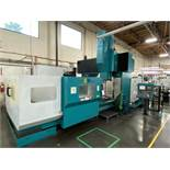 2005 SIGMA CNC DOUBLE COLUMN MACHINING CENTER, MODEL SDV-3219, FANUC 18IMB CNC CONTROL