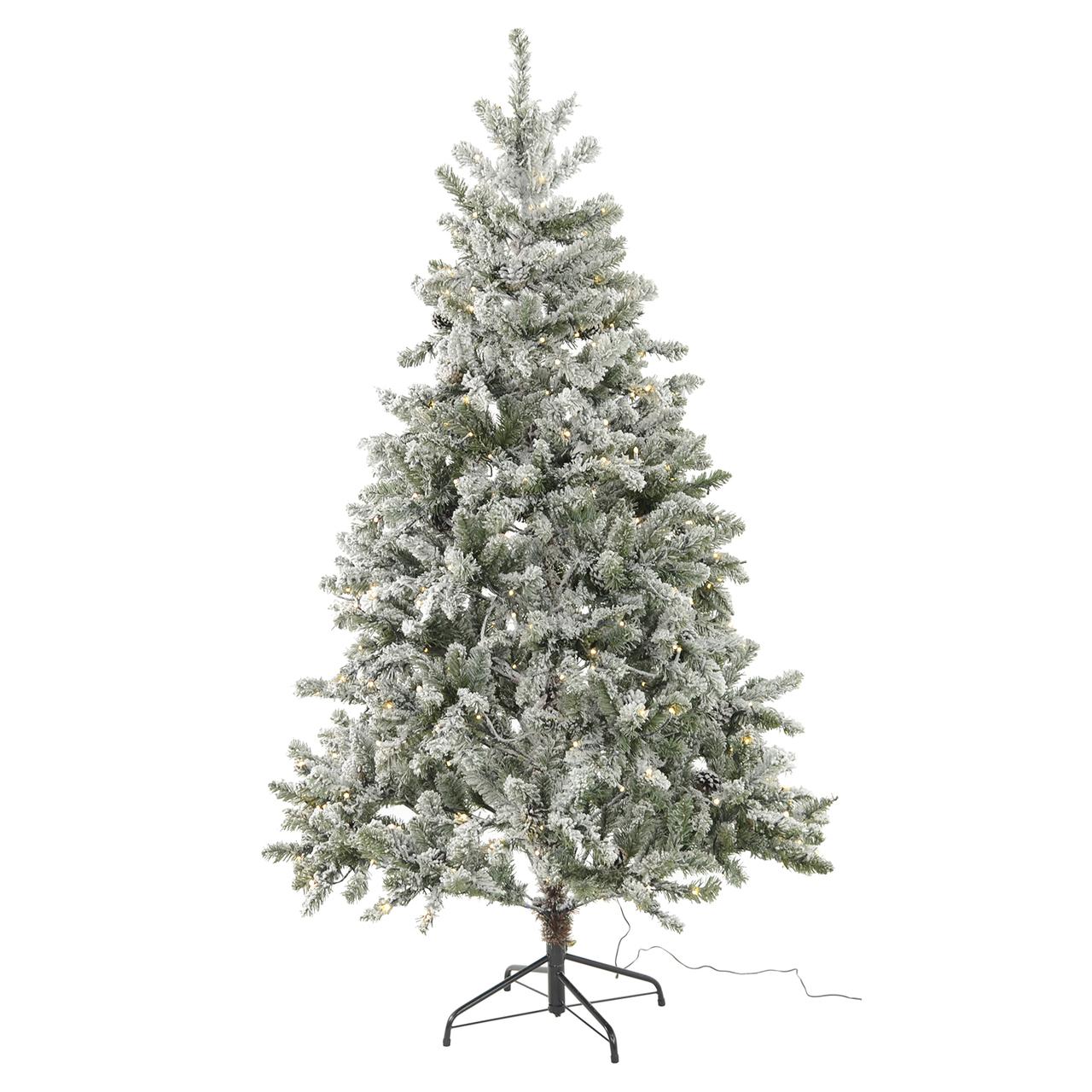Lot 18044 - V Brand New 180CM Snow Life Like Christmas Tree