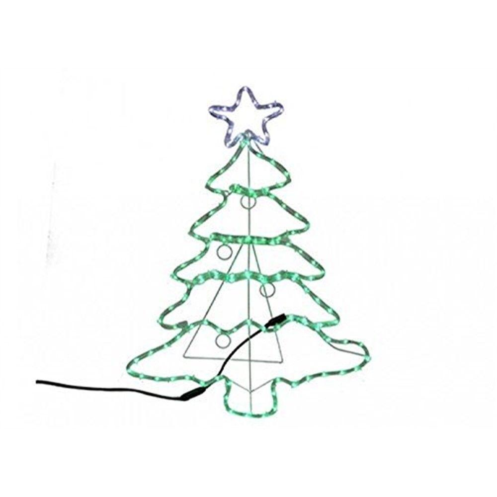 Lot 18006 - V Brand New 88CM Light Up Christmas Tree