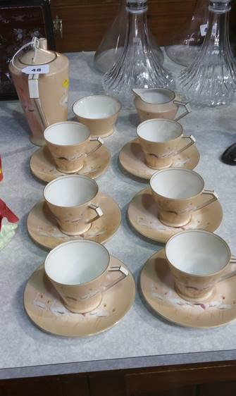 Lot 48 - Noritake tea set