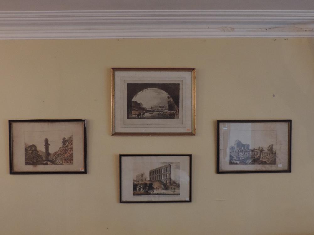 Lot 11 - A set of three coloured Oriental Prints,