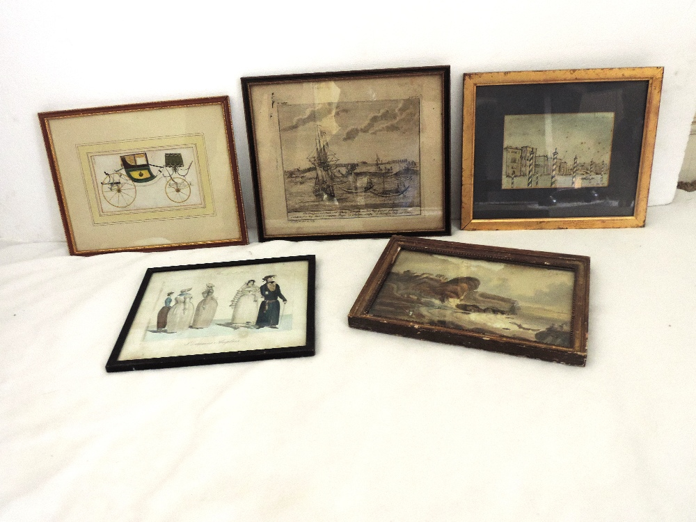 Lot 5 - A collection of Irish, English and other