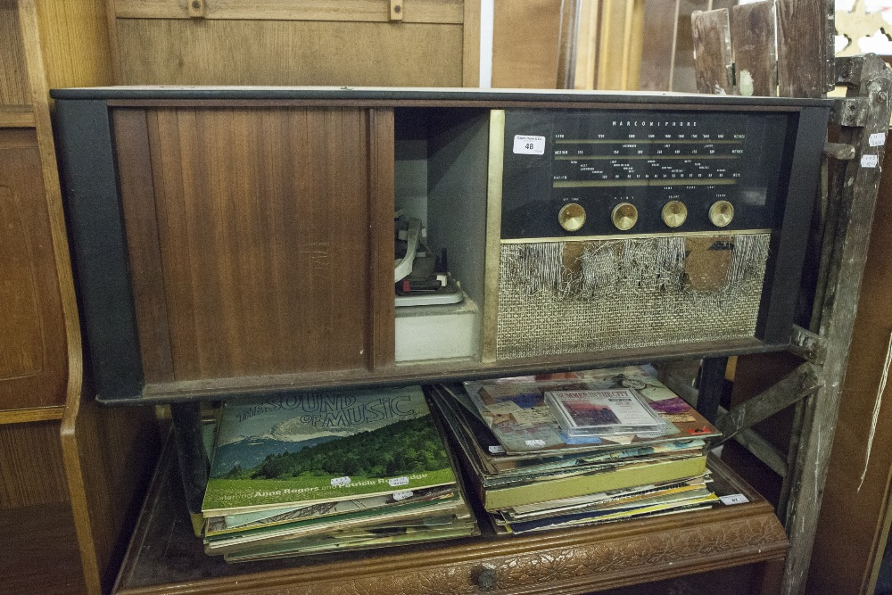 Lot 48 - LP GRAMOPHONE RECORDS AND A RADIOGRAM