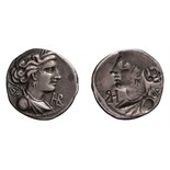 Gaul, Massalia, Obverse Brockage. Reduced Drachm or Tetrobol.