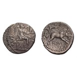 Celtic Britain, Atrebates. Epaticcus. AR Unit.