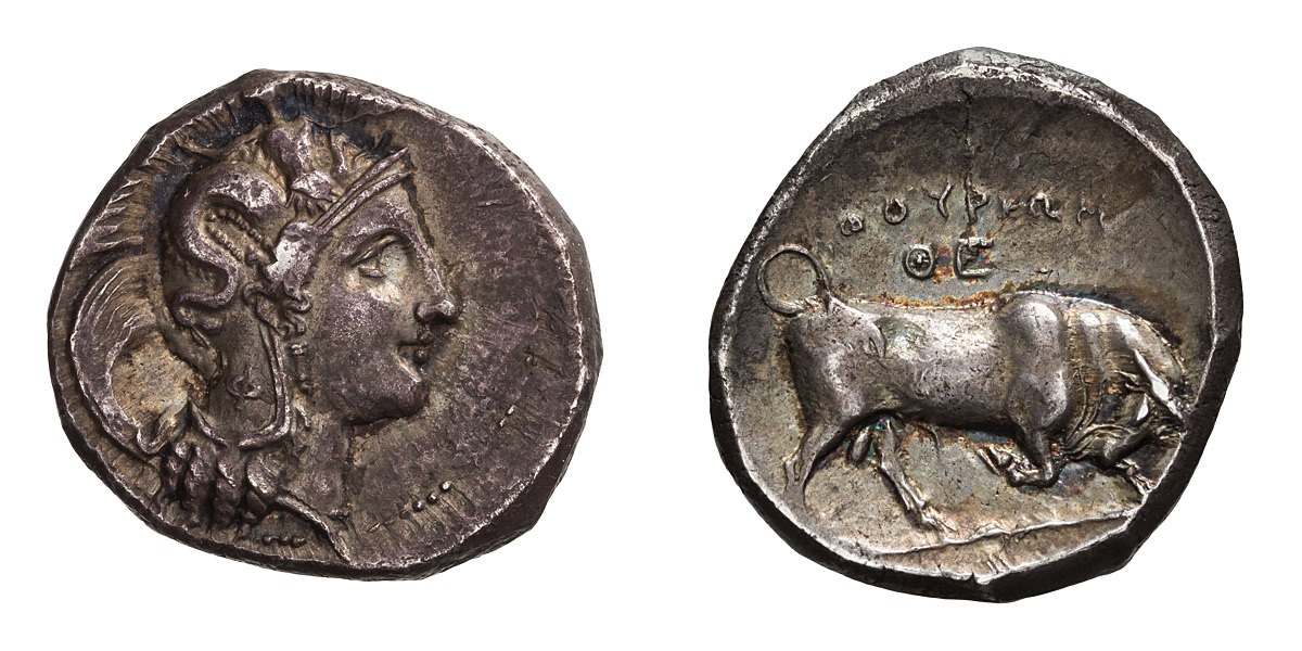 Lot 56 - Lucania. Thurium. Stater.