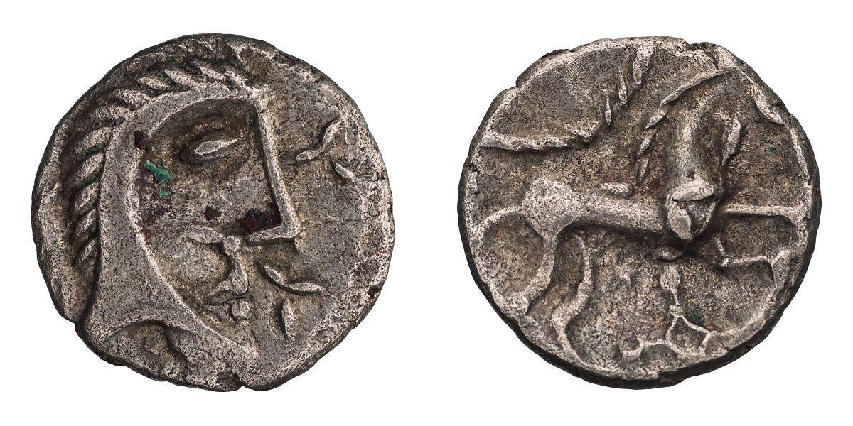 Lot 25 - Celtic Britain, Iceni. Queen Boudicca. AR Unit.