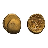 Celtic, Gaul, Northeast. Ambiani. Gold Stater.