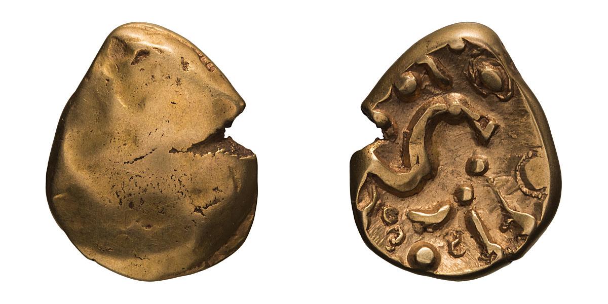 Lot 5 - Gallo-Belgic Celts. VE monogram type, Gallic War Stater, Morini tribe.