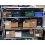 "Craven four height metal freestanding kitchen storage rack - 70"" x 24"""