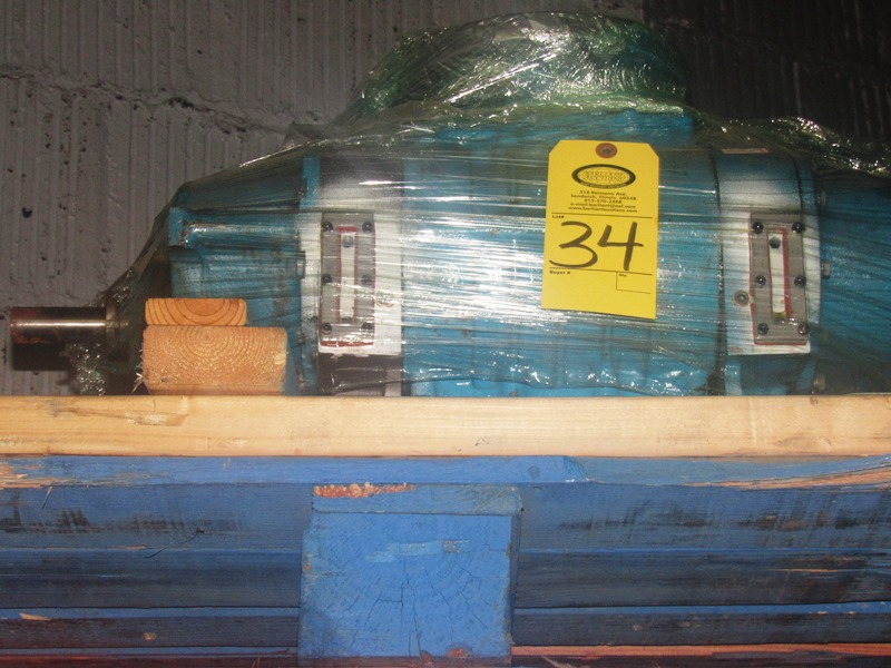 Lot 34 - Tuthill Mdl. 4009L Booster Pump, 3 h.p., 240/460 volts