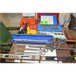 LOT/ HAND TOOLS [RIGGING FEES FOR LOT #43 - $85 USD PLUS APPLICABLE TAXES]