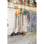 LOT/ CHAINFALLS AND LIFTING SUPPLIES [RIGGING FEES FOR LOT #39 - $125 USD PLUS APPLICABLE TAXES]