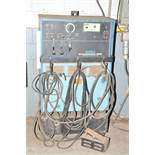 MILLER SYNCROWAVE 300 AC/DC TIG WELDER WITH CABLES AND GUN, S/N: N/A [RIGGING FEES FOR LOT #4 - $