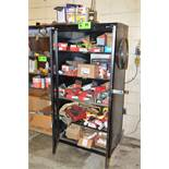 LOT/ HYBOY CABINET WITH HILTI FASTENING HARDWARE [RIGGING FEES FOR LOT #45 - $175 USD PLUS