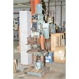 """KING INDUSTRIAL KC-50 28"""" VARIABLE SPEED GEAR HEAD DRILLING MACHINE WITH DRILLS AND TOOLING, S/N:"""