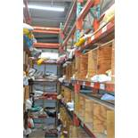 "Sections of Heavy Duty Pallet Racking 10' High x 26"" Deep"