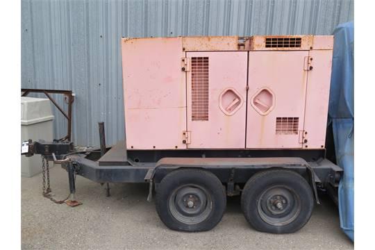 Multiquip mdl  DCA40SSAI 40kW Towable Diesel Generator