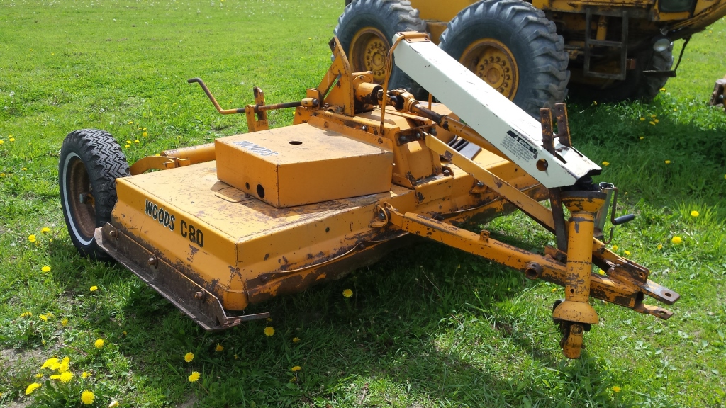 Woods finish mower C80 80