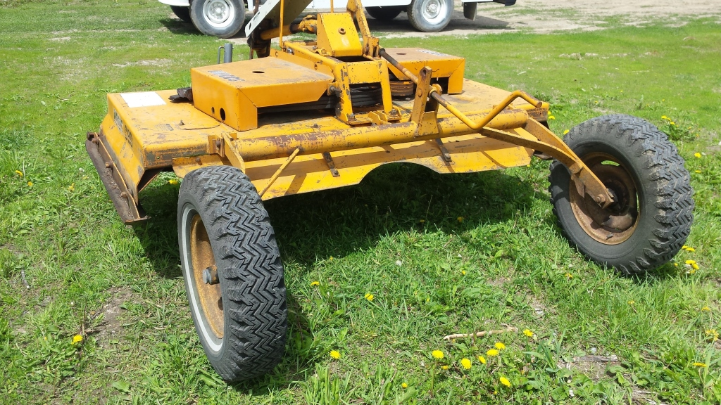 Woods Finish Mower C80 80 Quot Spare Blades Motor Pto 540