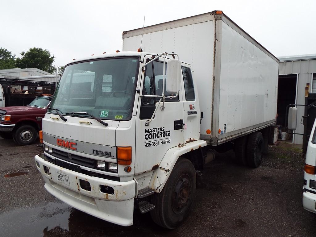 Gmc 7000 Forward 18 U00e2 U20ac U2122 S  A Van Truck Vin  J8dm7a1n0g3106713  1986  6 Cyl  5 Spd Hi