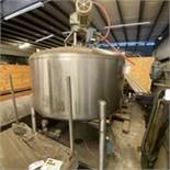 Cherry Burell Processor Tank Side Scrapped Bottom Center Discharge Missing Lid. LOADING FEE $250