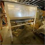 Pre-Pack Machinery Stainless Bin. LOADING FEE $300