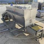 Twin Screw Mixer Feeder Stainless Construction. LOADING FEE $200
