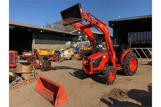 DS - 2015/65 REG KUBOTA MK5000 DIESEL TRACTOR COMPLETE WITH