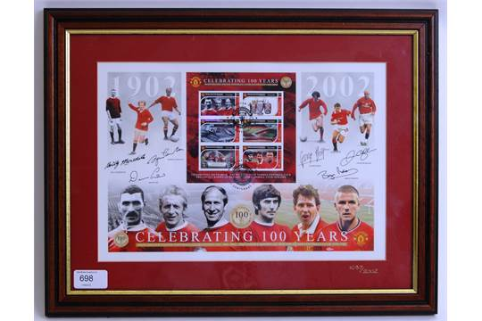 936906529 MANCHESTER UNITED    39  100 Years 1902 - 2002   39  Manchester ...