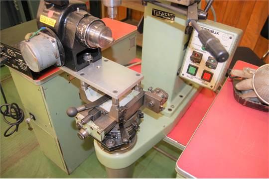 POSALUX COFACET MARK II DIAMOND FACET MACHINE, WITH BENCH