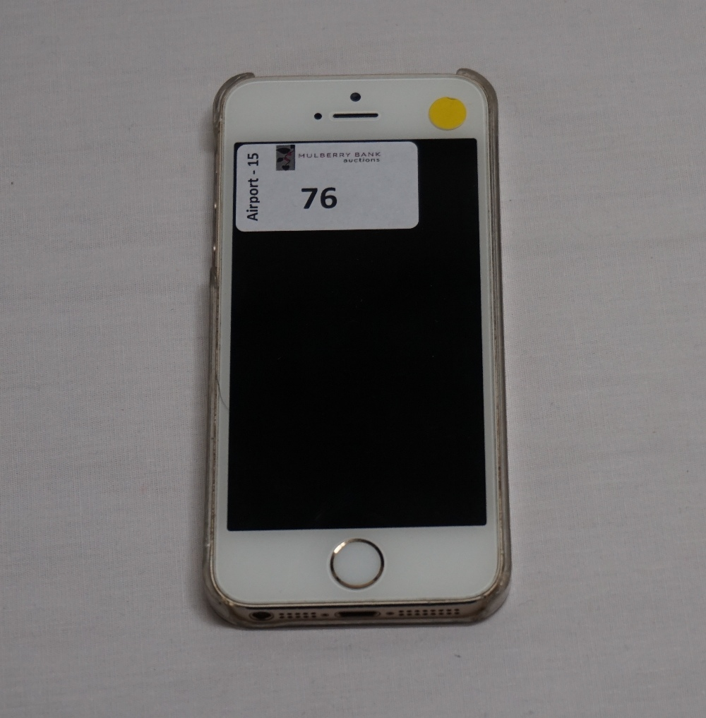 apple iphone 5s 16gb model a1457 imei 351987060582304 i cloud protected with case note. Black Bedroom Furniture Sets. Home Design Ideas