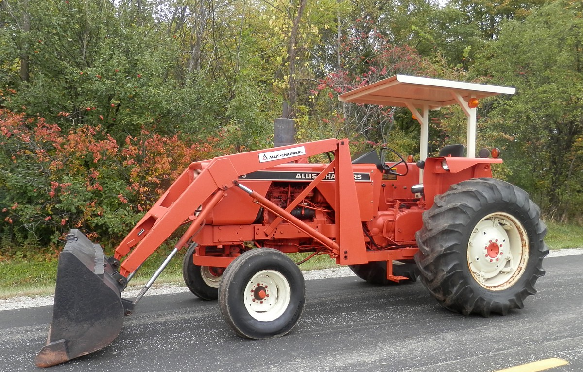 AC 175 Diesel Tractor, ROPS w/Canopy, DR, 3 Pt , Rolling
