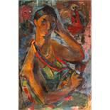 Wanda Sachelarie-Vladimirescu, Self-portrait