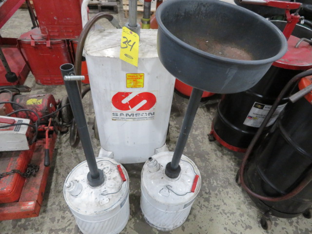 SAMSON AIR OIL DRAIN AND RETENTION CANS (LOCATED IN LUMBERTON,NJ) - Image 3 of 3