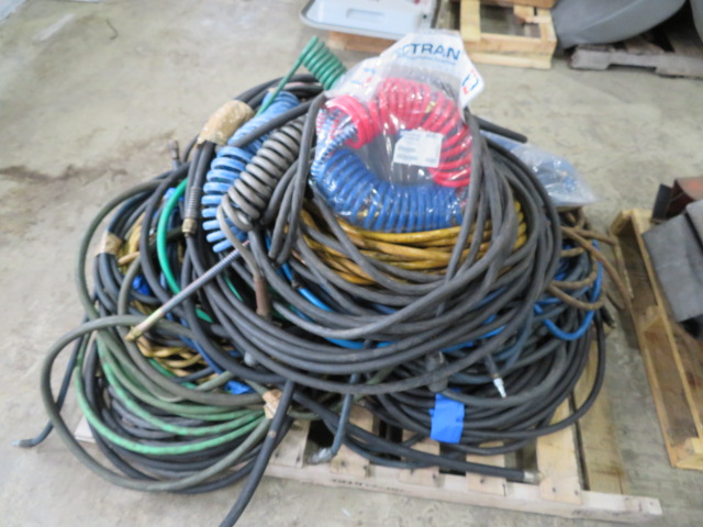 ASSORTED AIR HOSE, TRAILER BRAKE HOSE AND MISC. WATER HOSE (LOCATED IN LUMBERTON,NJ) - Image 2 of 2