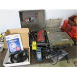 SNAP-ON MT2500 DIAGNOSTIC SCANNER, ASSORTED VEHICLE CARTRIDGES, EATON MOBILE DIAGNOSTIC TERMINAL AND