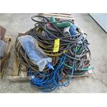 ASSORTED AIR HOSE, TRAILER BRAKE HOSE AND MISC. WATER HOSE (LOCATED IN LUMBERTON,NJ)