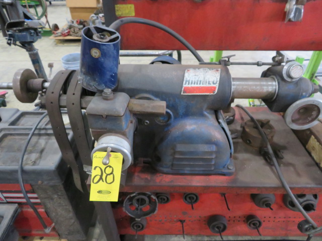 AMMCO BRAKE AND DRUM LATHE MDL. 3000 AND MDL. 7000 HUSTLER WITH NO. 6900 TWIN FACING TOOL AND - Image 2 of 8