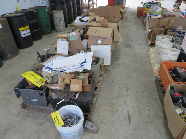 MISCELLANEOUS AUTO AND TRUCK PARTS (WHEEL WEIGHTS, MISC. GASKETS & CLAMPS, FILTERS, CHASSIS PARTS, - Image 2 of 20