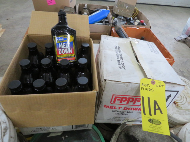 ASSORTED OILS, FLUID AND MELT DOWN FUEL TREATMENT (LOCATED IN LUMBERTON,NJ) - Image 3 of 5