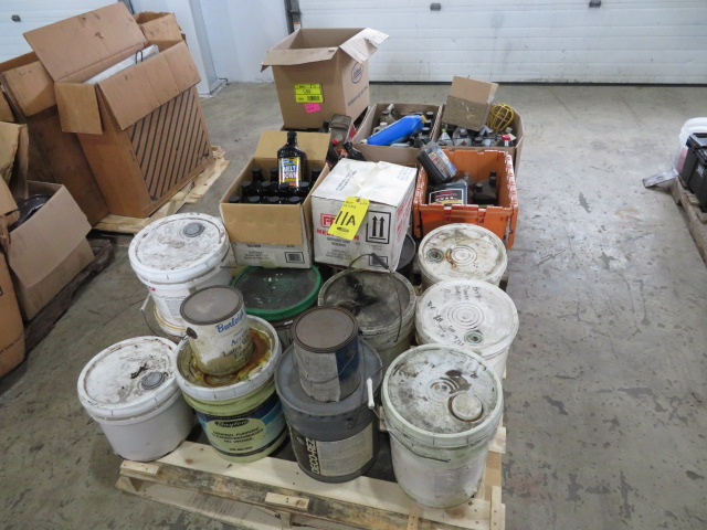 ASSORTED OILS, FLUID AND MELT DOWN FUEL TREATMENT (LOCATED IN LUMBERTON,NJ)