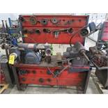 AMMCO BRAKE AND DRUM LATHE MDL. 3000 AND MDL. 7000 HUSTLER WITH NO. 6900 TWIN FACING TOOL AND