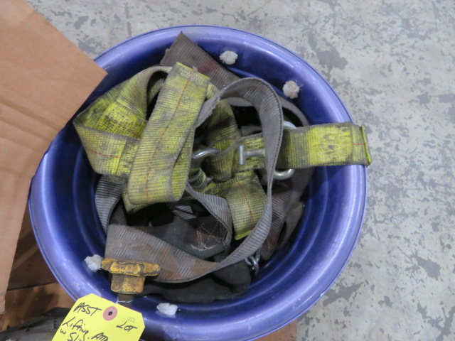 ASSORTED CHAINS, SLINGS, RATCHETS, HOOKS AND TOW ACCESSORIES (LOCATED IN LUMBERTON,NJ) - Image 5 of 6