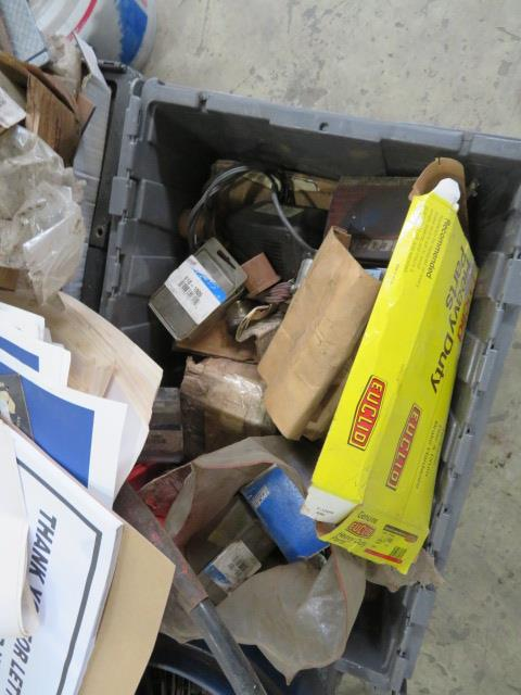MISCELLANEOUS AUTO AND TRUCK PARTS (WHEEL WEIGHTS, MISC. GASKETS & CLAMPS, FILTERS, CHASSIS PARTS, - Image 3 of 20