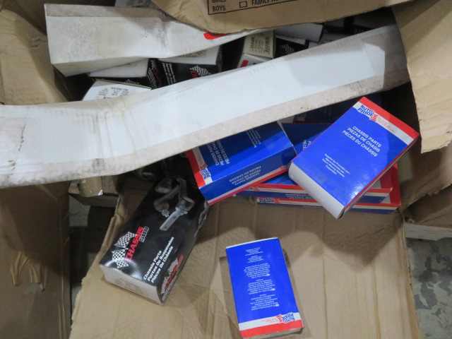MISCELLANEOUS AUTO AND TRUCK PARTS (WHEEL WEIGHTS, MISC. GASKETS & CLAMPS, FILTERS, CHASSIS PARTS, - Image 20 of 20